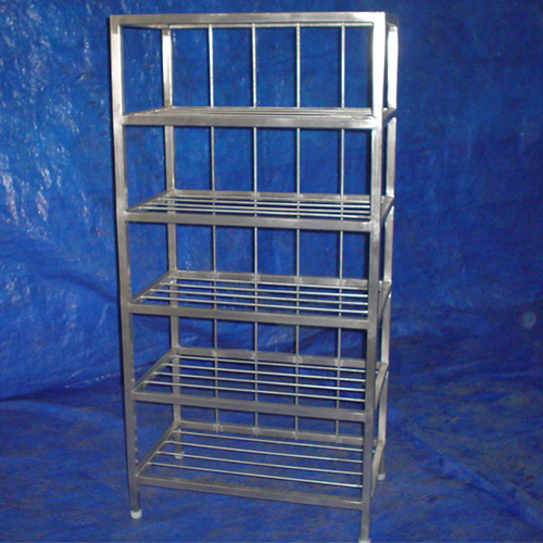 Racks of Various designs and capacity are available