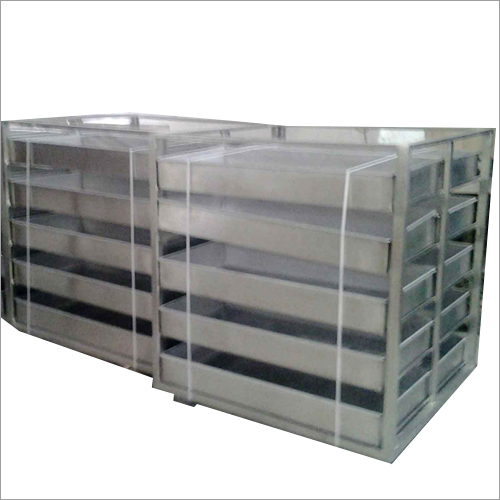 Sterilization Trolley for IV bottles capacity to carry about 1000kgs
